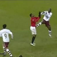What goes around: this Emmanuel Eboue tackle enraged Man Utd's players in 2008