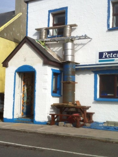 Scaffolding in Kerry Pic of the Day