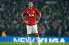 No UEFA action on Rio Ferdinand dissent