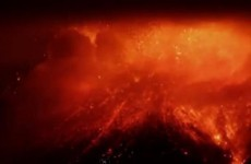 Mount Etna flash eruption lights up Sicilian sky