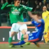 VIDEO: Ankle-breaking tackle earns 11-game ban for Nice midfielder