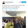 Tweet Sweeper:  Ronan Keating's rock and roll moment