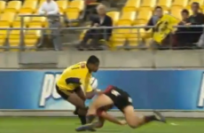 VIDEO: Savea batters All Black teammate Dagg on his way to super try