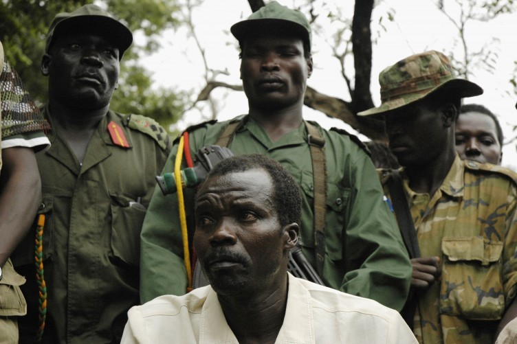 Joseph Kony with LRA