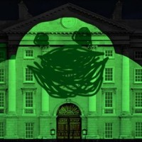 In Pics: So this is what Trinity College might look like later this week...
