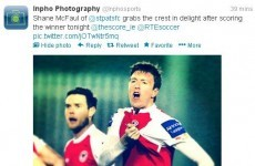 The opening night of the Airtricity League in tweets