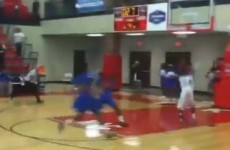 VIDEO: High-school basketball player costs his team the game with buzzer-beater at wrong end