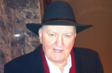 Here's your daily 'George Hook in a hat' update