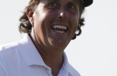 Phil Mickelson teaches you how to hit a golf ball off the cart path