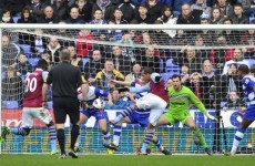 Premier League: Massive win for Aston Villa at relegation rivals Reading