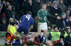 'In my eyes it was definitely a penalty' - Keith Earls on the controversial TMO