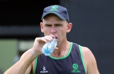 Sticky wicket: Ireland's talisman Trent Johnston puts retirement on the long finger