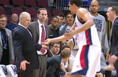 VIDEO: Player loses tooth, coach totally grossed out