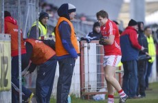 Cork attacker Sheehan out for 4-6 weeks