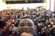 VIDEO: Will Smith raps the Fresh Prince theme... to some schoolgirls