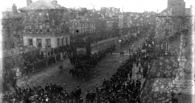 Here's how they did Paddy's Day parades in 1905...
