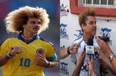 Carlos Valderrama has got rid of his legendary afro