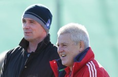 In pics: Warren Gatland turns up at Ireland training session