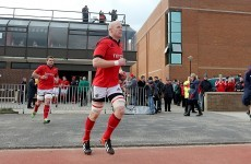Don't call it a comeback: Paul O'Connell makes return for Munster A