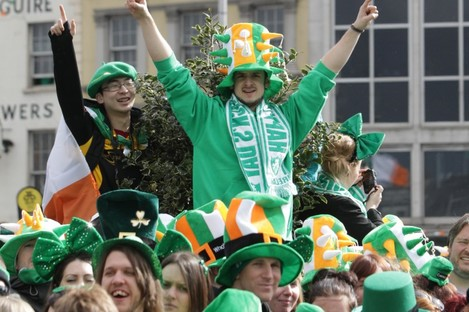 The Irish... sure, we're a great bunch of lads.