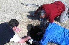 Another man swallowed by a sinkhole, this time on a golf course