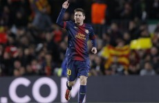 Leo Messi scores 2 Leo Messi goals as Barcelona march on