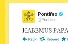 Pope's Twitter account is back in business with this tweet