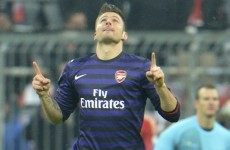 VIDEO: Olivier Giroud puts the cat amongst the pigeons with early goal in Munich