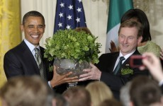 Kenny set for 'shamrock ceremony' at White House... on Tuesday