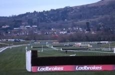Irish jockey JT McNamara airlifted to hospital from Cheltenham