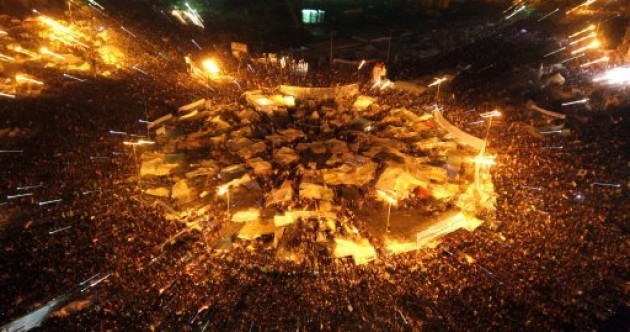 Slideshow: the protests which led to Mubarak's resignation