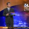 Weatherman falls for name prank live on air... and loses it