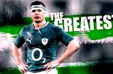 VIDEO: 'The Greatest' -- RTÉ tribute to Brian O'Driscoll feels a lot like a goodbye