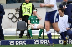 The 'stamp' that saw Brian O'Driscoll sin-binned in possibly his last game for Ireland