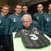 In pictures: Trap is presented with birthday cake in Malahide...