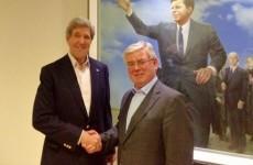Gilmore to meet John Kerry in Washington today