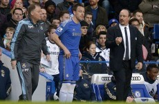 Arrests made following missile-throwing at Chelsea's John Terry