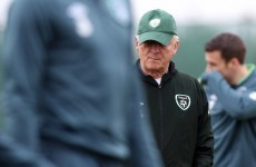 Trapattoni not worried by Whelan 'knock'