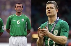 POLL: Who is the bigger Ireland legend - Roy Keane or Brian O'Driscoll?