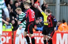 Flurry of cards as Bohemians and Shamrock Rovers draw blanks