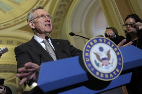 Senate Majority Leader Harry Reid (file photo)