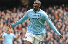 Unhappy Yaya Toure may leave Man City... if he does't get a new contract by Saturday - reports