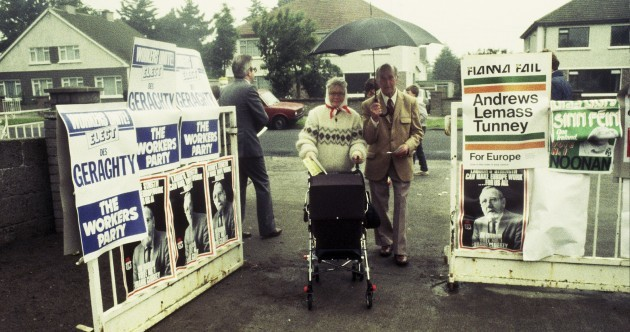 Do you know where these photos of the 1984 European elections were taken?