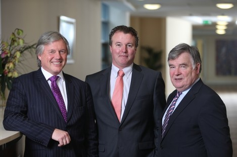 Damian Gallagher, Mark Hutch and Tom Rowland, Directors, Beechfield Nursing Home Group.