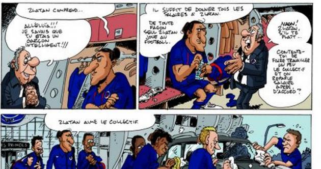 Holy bicycle kicks! Zlatan gets his very own comic strip