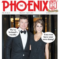 Looks like we've made it... BOD and Hubes on the cover of this week's Phoenix