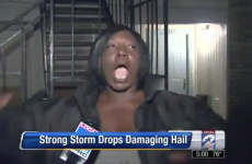 VIDEO: This woman's description of a hailstorm is the best ever