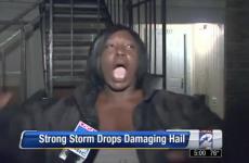 VIDEO: This woman's description of a hailstorm is the best ever