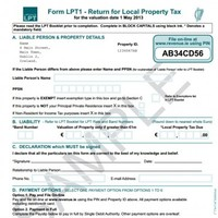Over 7,000 complete local property tax returns