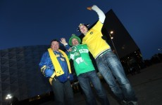 Sweden v Ireland: Stockholm slowly building up to crunch fixture